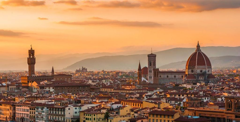 And enjoy the wonders of Florence
