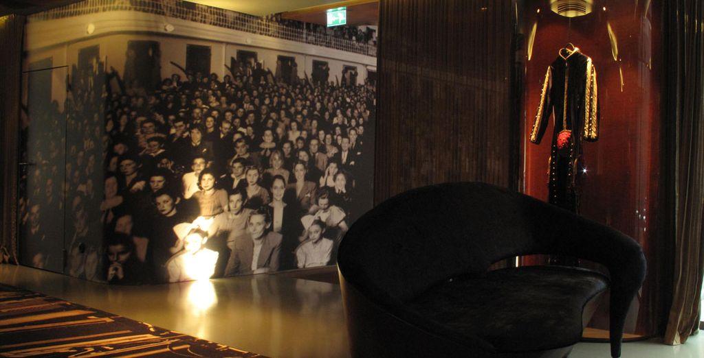 The hotel boasts striking decor - Hotel Teatro**** - Oporto - Portugal Porto