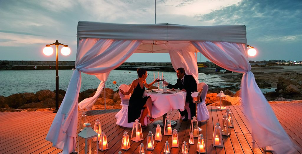Or even try private dining for a romantic experience