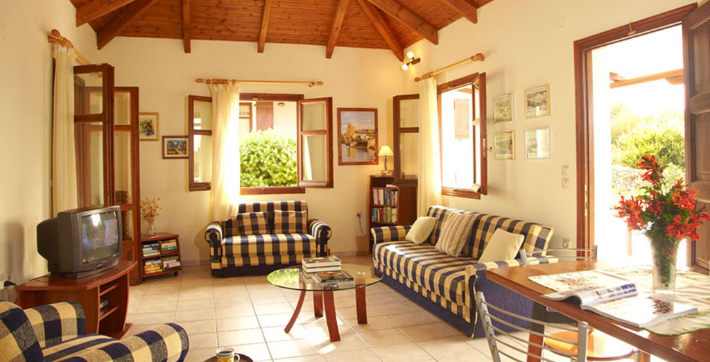 At these charming island homes - Aloni Cottages Kefalonia
