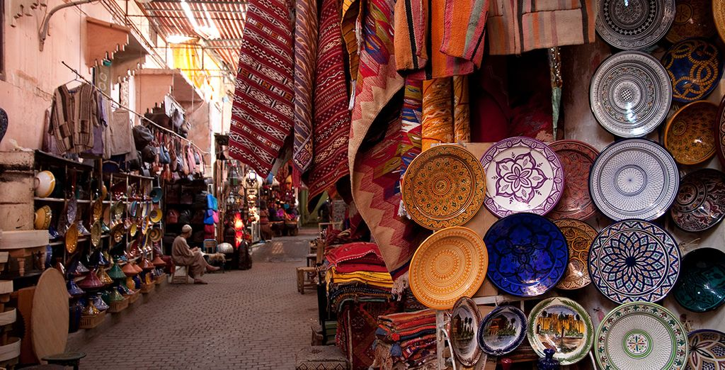 Where you can return to after the hustle and bustle of Marrakech