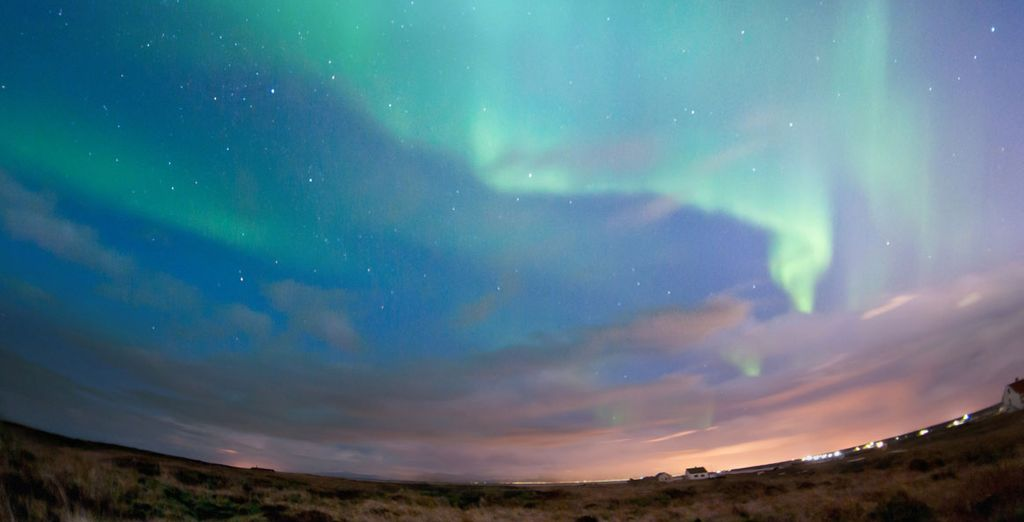 And marvel at the Northern Lights - a true phenomenon of the natural world