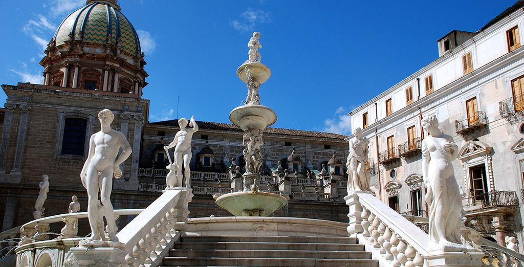 Then set off to discover Palermo's history
