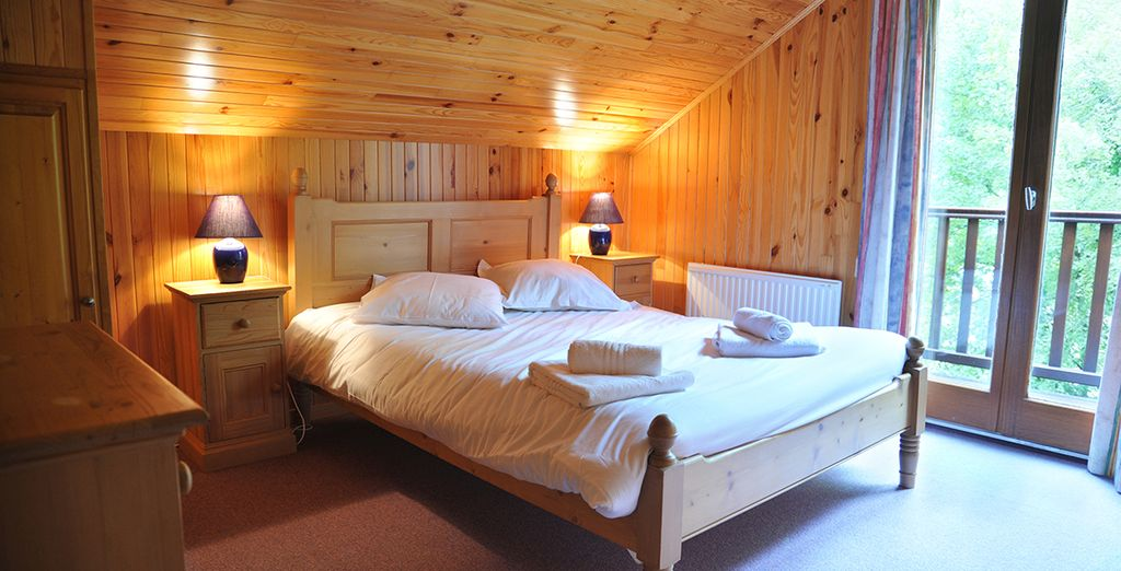 These homely lodges are a haven from the hustle & bustle... (Perigord & Dordogne Lodge)