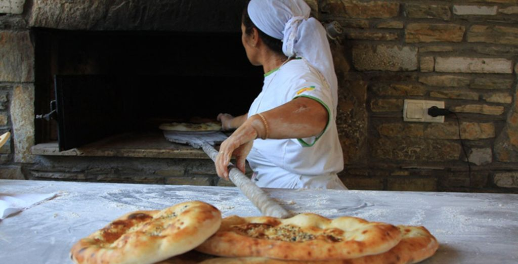The fresh Turkish pizza's are incredible!