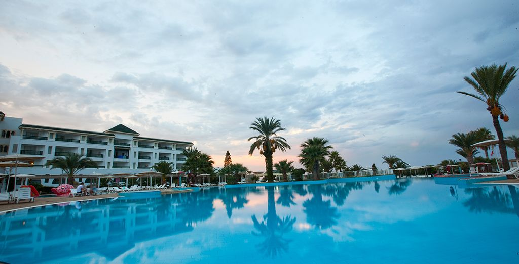 Visit this relaxing all-inclusive beach escape - El Mouradi Palm Marina 5* Port El Kantaoui