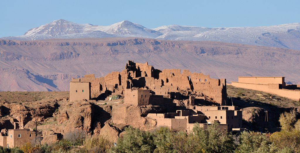 Or perhaps take a day trip to the nearby Atlas Mountains
