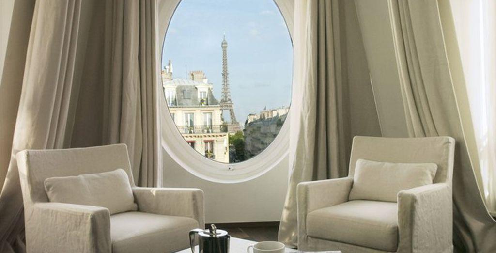 Enjoy a romantic getaway at the elegant Radisson Blu Metropolitan