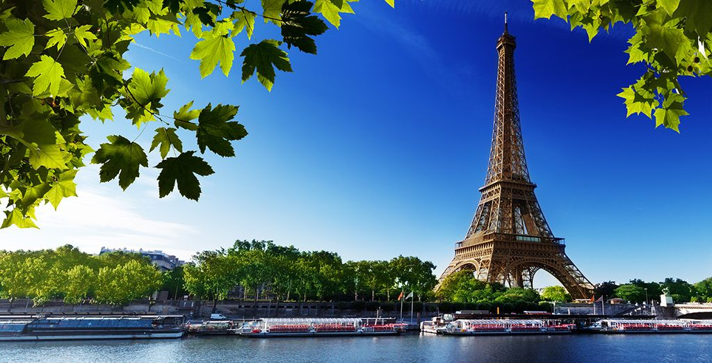 Wander along the Seine, or take a boat trip