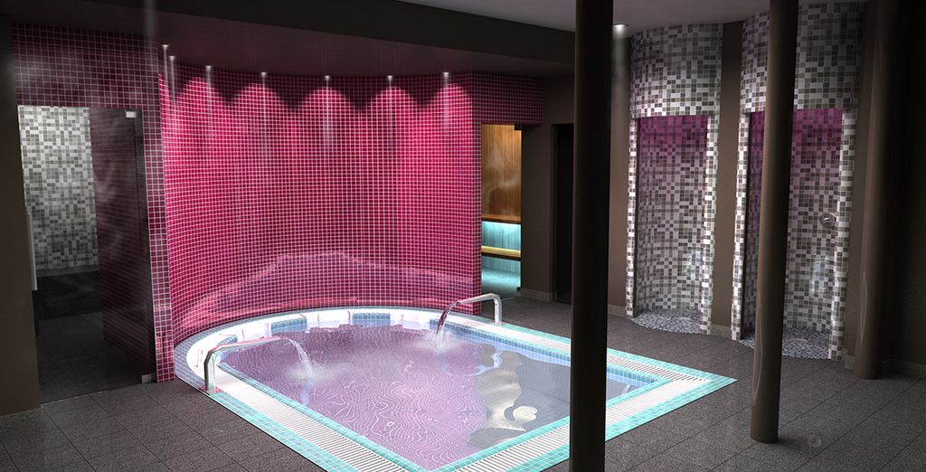 Or relax at the spa after sightseeing