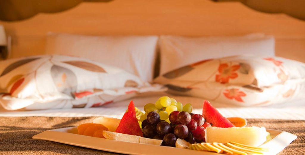 Enjoy breakfast in bed...