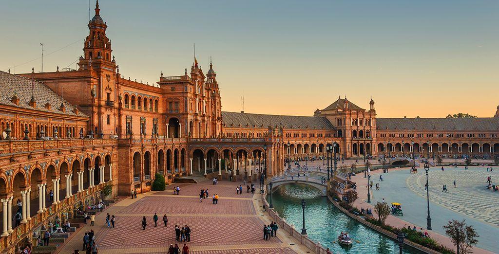 Seville offers visitors a beautiful city to explore... - NH Plaza de Armas 4* Seville