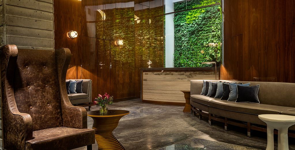 This stylish and sophisticated hotel is nestled in the trendy Hudson Square neighbourhood