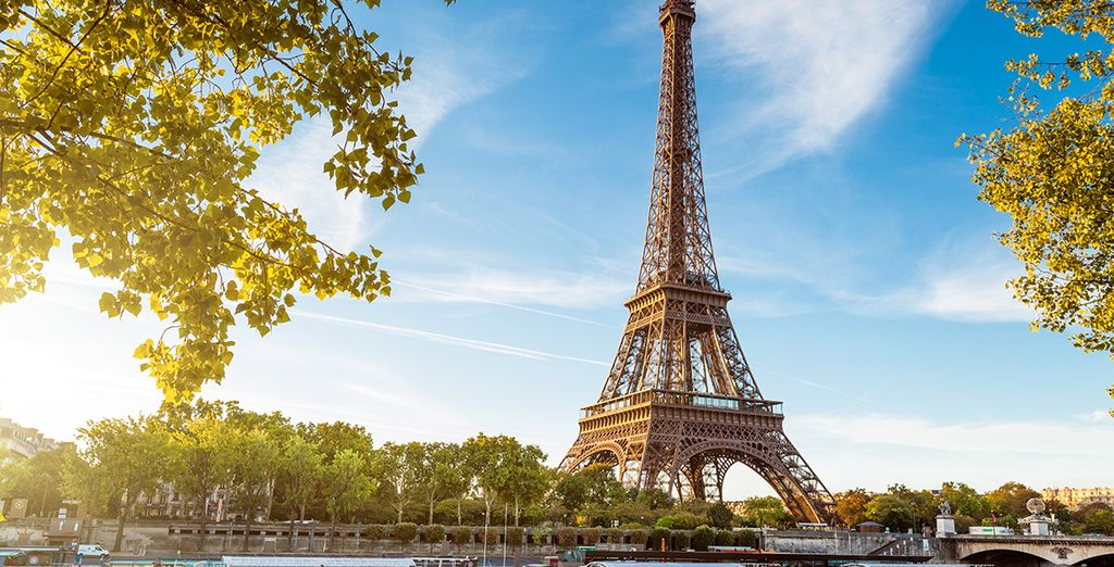 So get ready to be enchanted by the bright lights of Paris