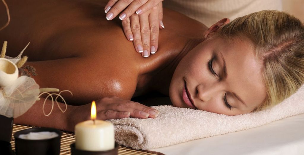 Indulge in a relaxing massage...