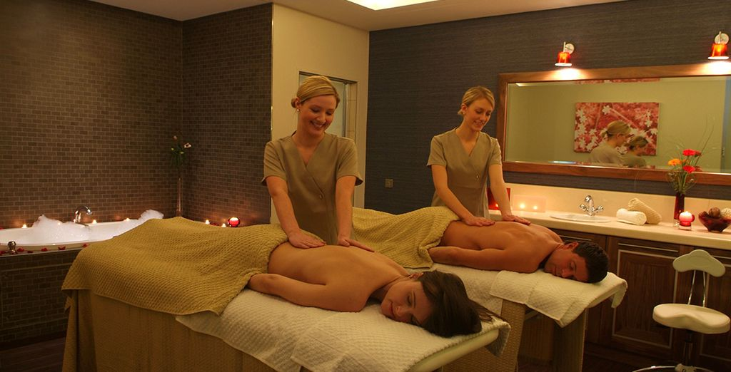 Indulge yourself with a relaxing massage...