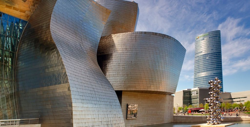 Iconic architecture and delicious Basque cuisine