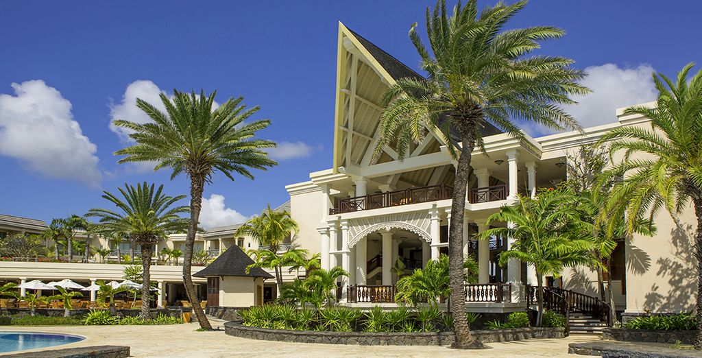 The 5* Residence Resort is the perfect romantic getaway