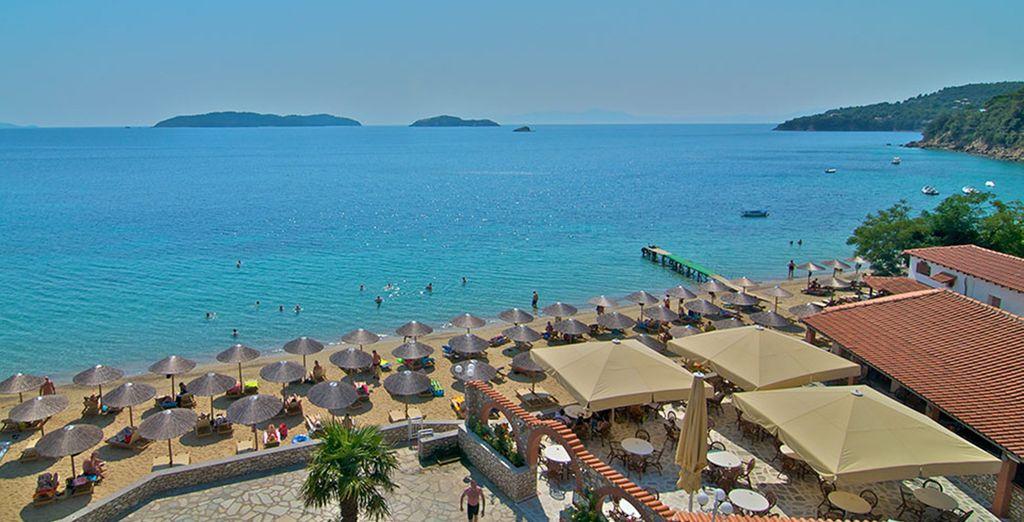 Take advantage of the amazing beachfront location