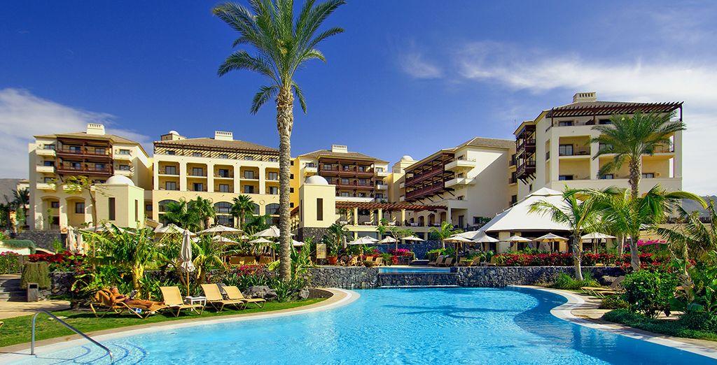 Ideally situated on the south-western coast of the island - Vincci La Plantacion Del Sur 5* Tenerife