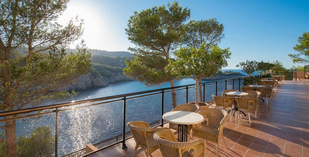 Enjoy delicious Mediteranean cuisine