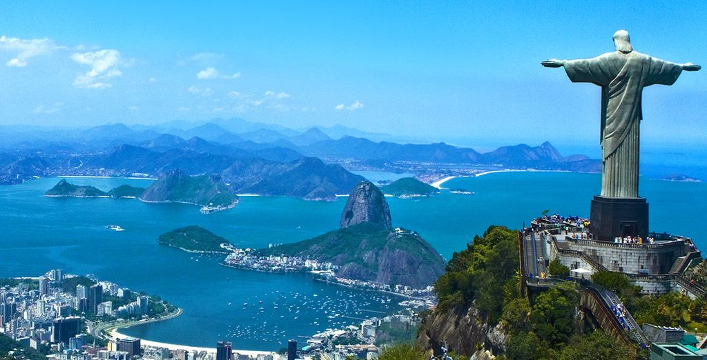 Discover the amazing sights of Brazil