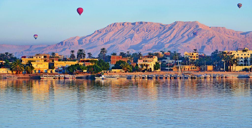 Sail along the enchanting River Nile - Alhambra Nile Cruise 5* Nile River