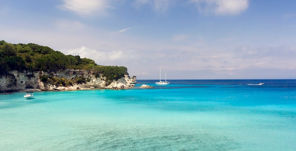 A trip to the nearby islet Anti-Paxos is an absolute must