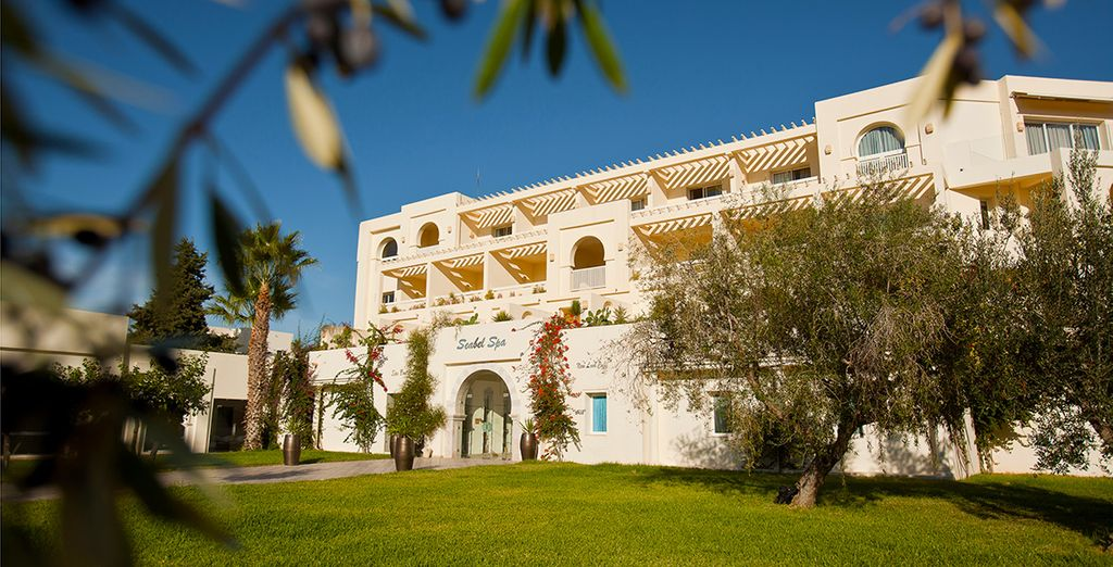 Stay at the 4* Seabel Alhambra Beach Golf & Spa Resort