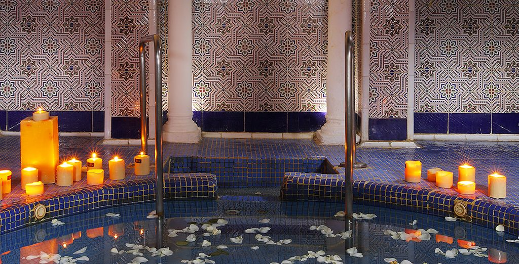 Wind down some more with a spa treatment