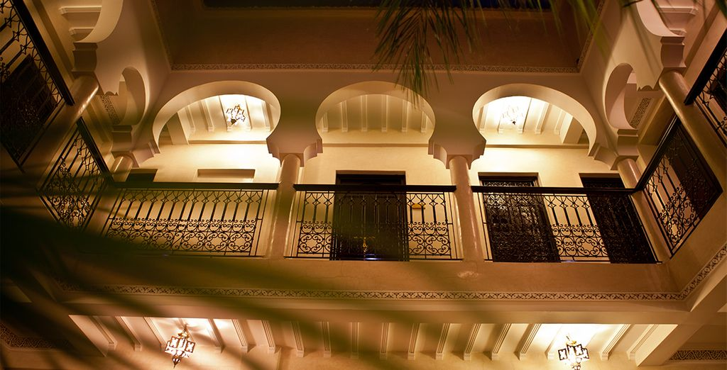Stay in the Riad Palais Delia