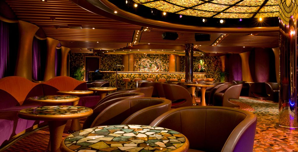 And numerous bars and restaurants, there is plenty to keep you occupied on board!