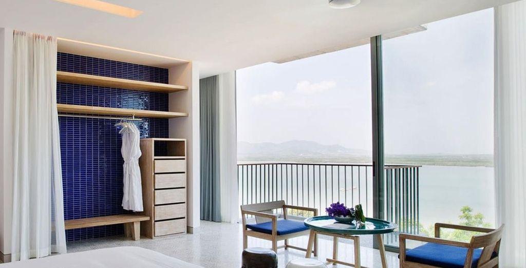 Has wonderful views from your verandah