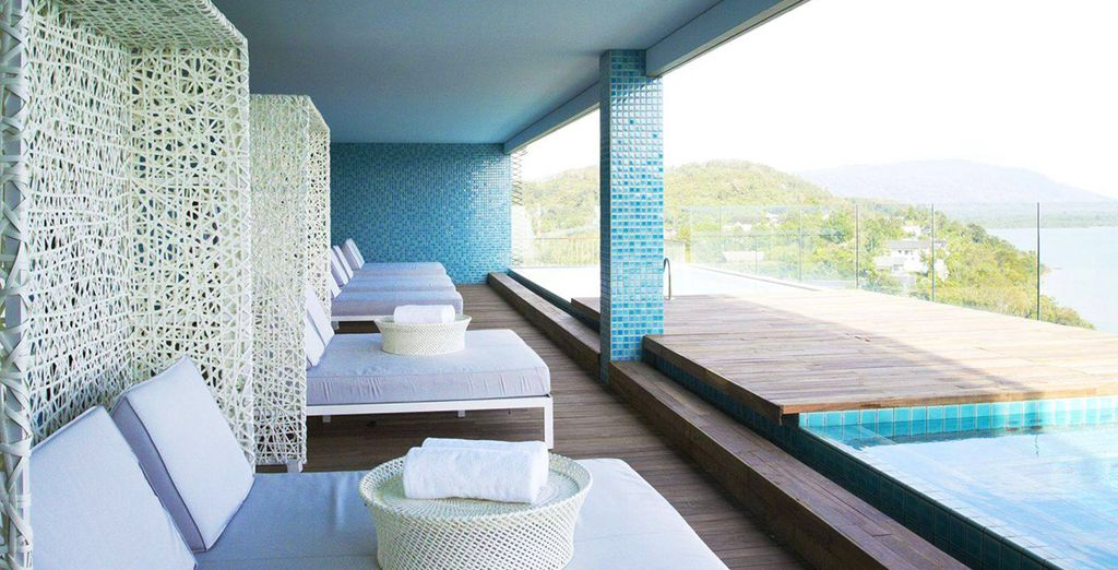 A stunning wellness retreat & spa where you can recharge your batteries