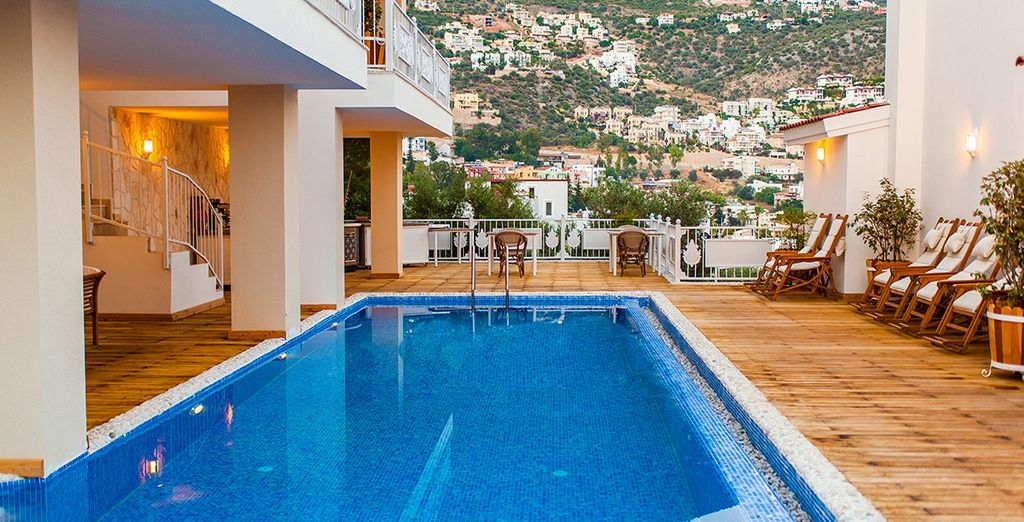 A boutique Mediterranean experience awaits at the Oasis Hotel...