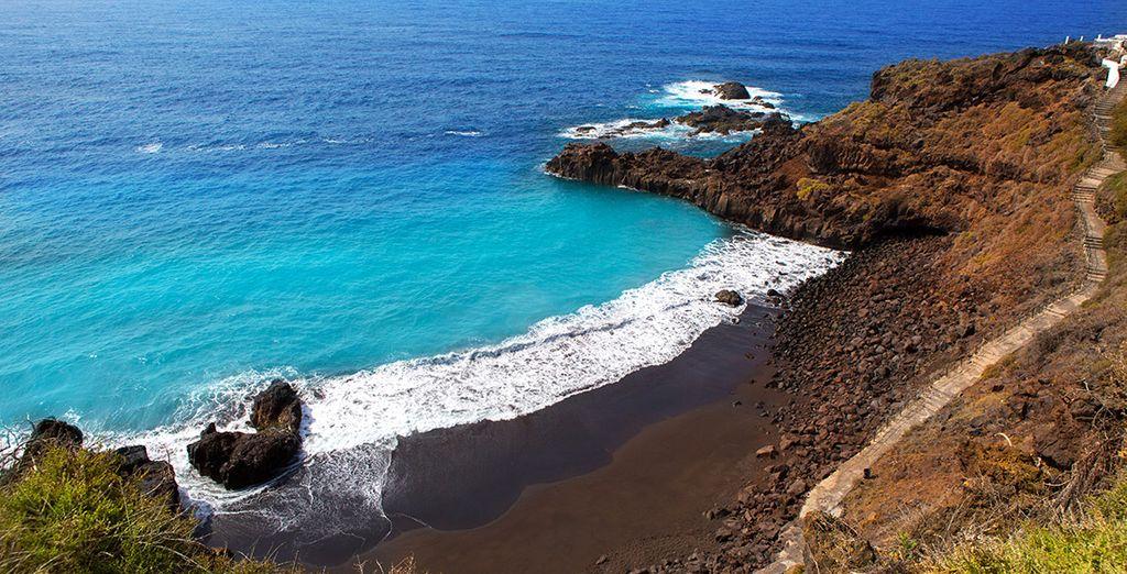 Beautiful beaches of La Palma