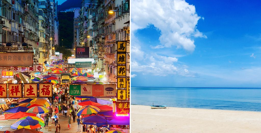 From the city streets of Hong Kong and Bangkok, to the beaches of Hua Hin