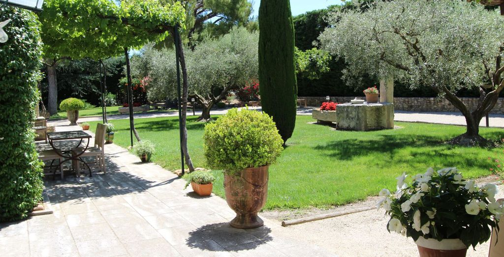 You will love the stunning gardens and the magical sunshine