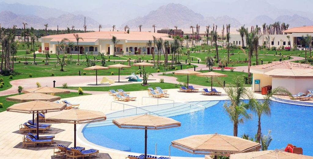 With great leisure facilities