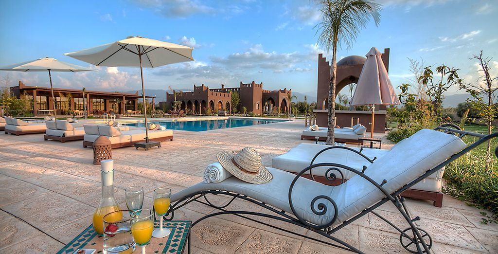 At the 5* Kasbah Igoudar