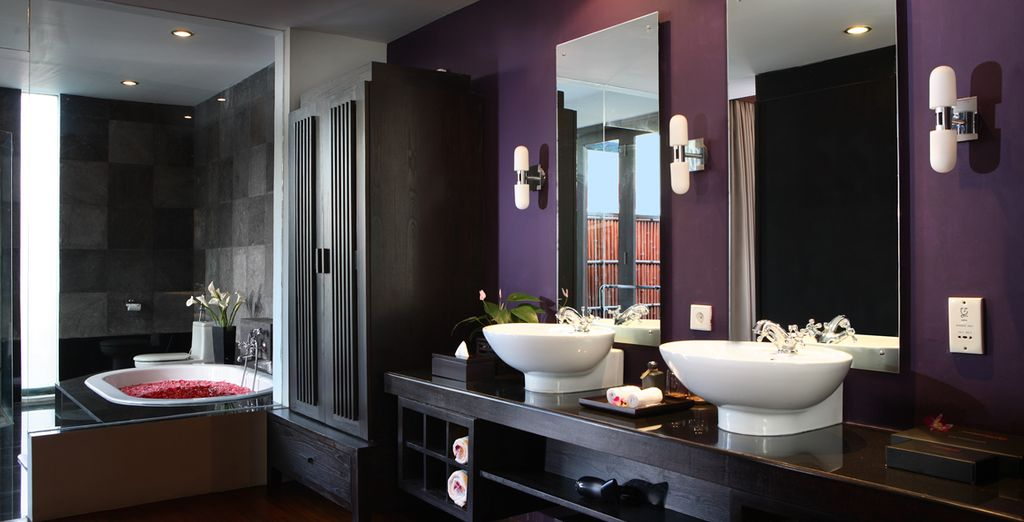 Sleek, modern and spacious...