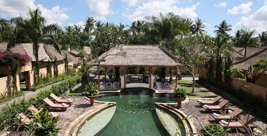 Begin in a stunning private villa at Furama Villas & Spa