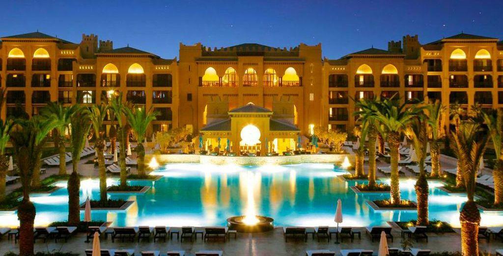 At the  5* Mazagan Beach Resort - Mazagan Beach Resort 5* El Jadida
