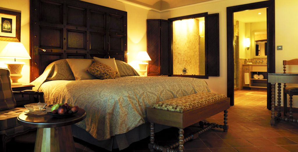 Stay in a luxurious room