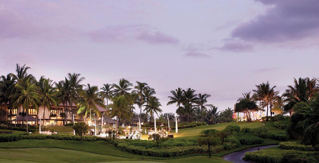 Blissful Bali awaits...