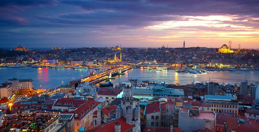 Located in cosmopolitan Istanbul...