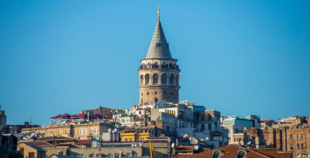 Located in historic Karaköy, you are just minutes from famous Galata Tower