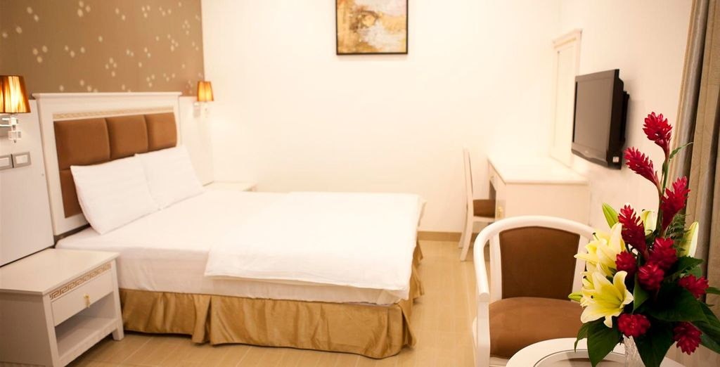 Revel in the comforts of your rooms (Ruby River)