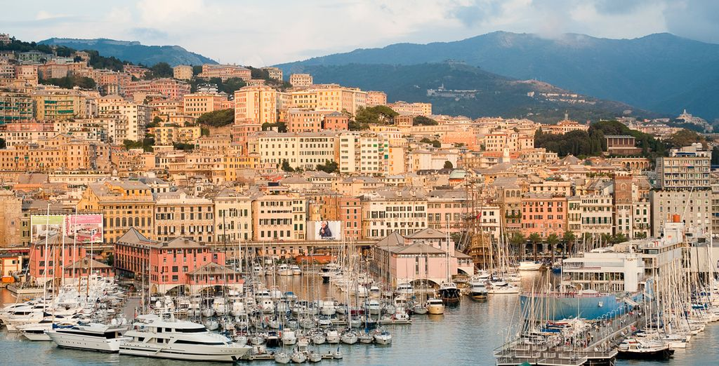 Then return to Italy with a visit to Genoa, before finishing in Civitavecchia