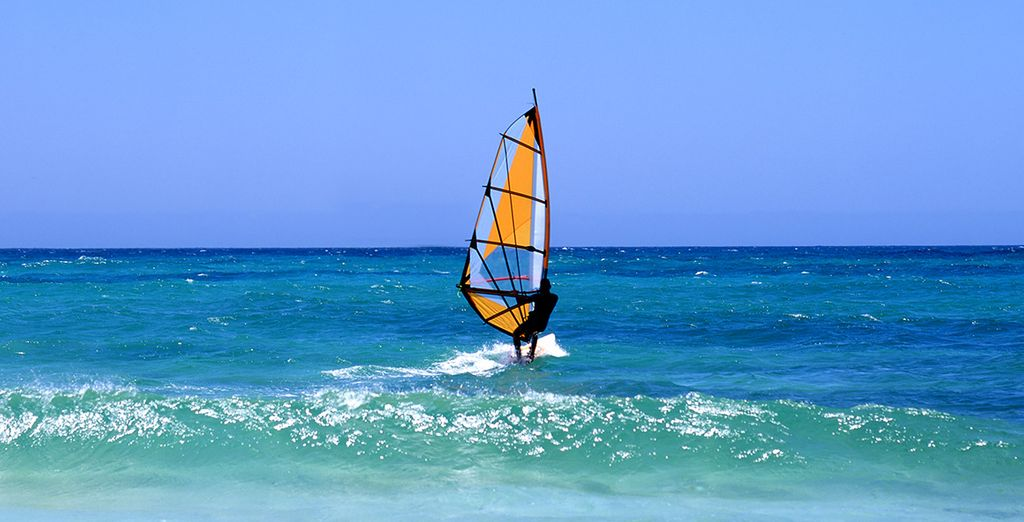 Watersports enthusiasts will love Lanzarote